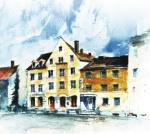Radsport Hotel in Augsburg