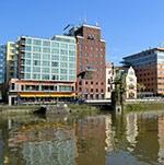 Flughafenhotel Courtyard by Marriott Düsseldorf Hafen nur 12km zum Flughafen Düsseldorf International