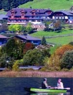 Fahrrad Hotel in Weissensee