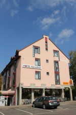 Fahrrad Hotel in Stuttgart-Möhringen