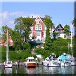 das Motorrad Hotel Hotel + Caf� Wallburg in Neustadt in Holstein