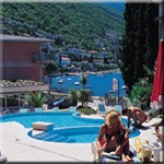 Ambienthotel Spiaggia am See in Malcesine / Gardasee