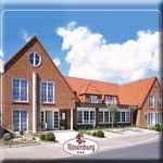 das Motorrad Hotel Hotel Rosenburg in Husum