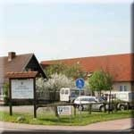 Hotel Gasthaus zum Rethberg in Lübstorf / Mecklenburgische Seenplatte