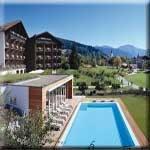 Flughafenhotel Lindner Parkhotel & Spa Oberstaufen nur 55km zum Flughafen Flughafen Friedrichshafen