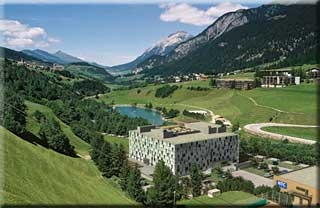 Hotel for Biker Cube Savognin in Savognin in Surses