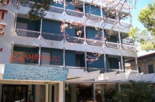 Hotel for Biker Hotel Gambrinus in Riccione (RN) in Adriaküste