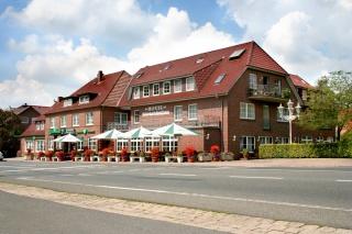 Motorrad Hotel Böttchers Gasthaus in Rosengarten - Nenndorf in Lüneburger Heide