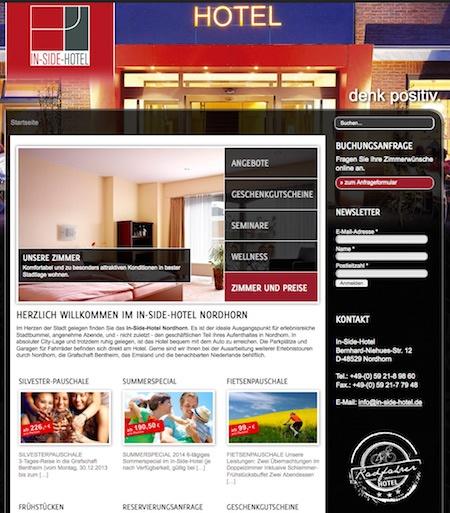 familien in side hotel in nordhorn. Black Bedroom Furniture Sets. Home Design Ideas