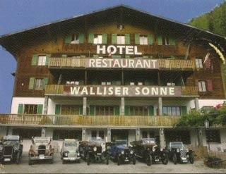 Biker Hotel Hotel Restaurant Walliser Sonne in Reckingen-Gluringen