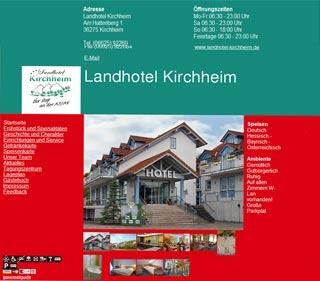 Fahrradfahrerfreundliches Landhotel Kirchheim in Kirchheim