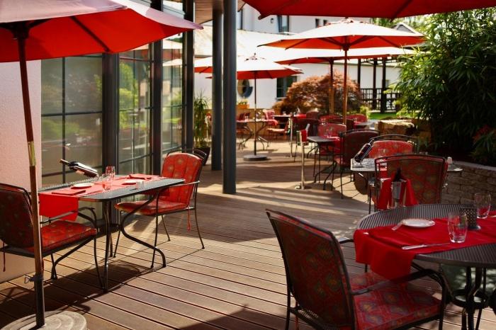 Airporthotel Hotel Restaurant Dahm in Erpeldange / Ettelbruck