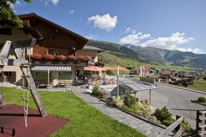 Biker Hotel Hotel Cresta in Sedrun