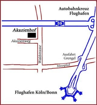 Flughafen Hotel Akazienhof Hotel & Brauhaus in Köln
