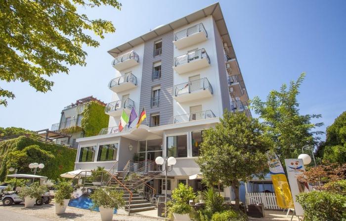 Biker Hotel Hotel New Castle in Cesenatico (FC)