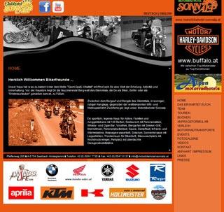 Fahrradfahrerfreundliches Motorbikehotel Sonnalp in Hinterglemm