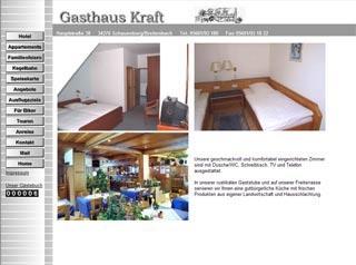 Fahrradfahrerfreundliches Hotel Gasthaus Kraft in Schauenburg-Breitenbach
