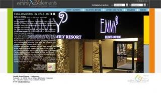 Fahrradfahrerfreundliches Family Resort Emmy 5 elements in Völs am Schlern (BZ)