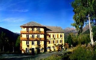 Biker Hotel Hotel Belvedere in Seez in Saint Bernard