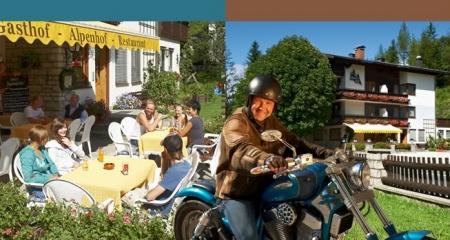 Motorrad Alpenhof - Annaberg in Annaberg im Lammertal in Dachstein West - Lammertal