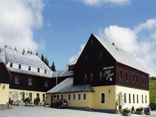 Hotel for Biker Berggasthof Neues Haus in Oberwiesenthal in Erzgebirge