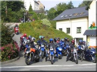 Motorrad Bikercamp Erzgebirge in Gornsdorf in Erzgebirge
