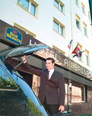 Motorrad Best Western Ambassador Hotel in Düsseldorf in Düsseldorf