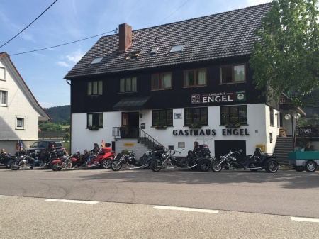 Motorrad Hotel Landgasthof Engel in Gutach an der Schwarzwaldbahn in Schwarzwald
