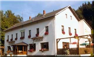 Motorrad Landhotel Flöhatal in Heidersdorf in Erzgebirge