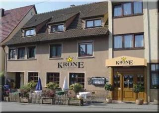 Motorrad Hotel Krone in Haigerloch in Schwarzwald