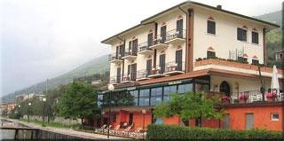 Motorrad La Caletta Hotel Bolognese in Brenzone in Gardasee