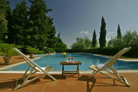 Motorrad Hotel - Residence Villa La Cappella in Montespertoli (Firenze) in Florenz