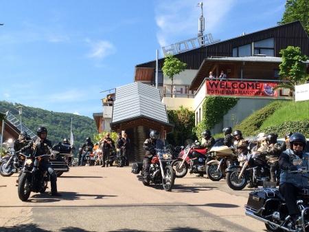 Motorrad Hotel Restaurant Höhenblick in Mühlhausen im Täle in Schwäbische Alb