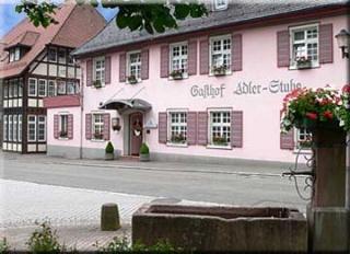 Motorrad Hotel Adler-Stube in Münstertal in Schwarzwald