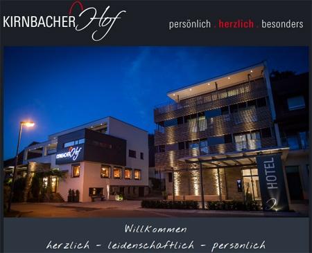 Hotel for Biker Kirnbacher Hof in Wolfach in Schwarzwald