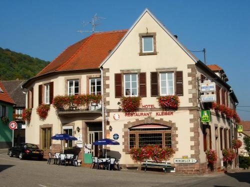 Motorrad Hotel Restaurant Kleiber in Saint Jean Saverne in