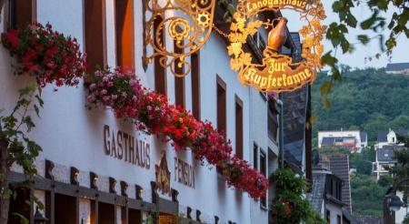 "Hotel for Biker Landgasthaus ""Zur Kupferkanne"" in Kobern - Gondorf in Mosel"