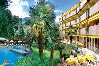 Motorrad Park Hotel Mignon in Meran in Meran