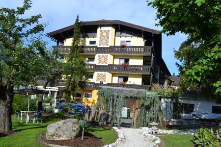Motorrad Hotel Moser in Weissensee in