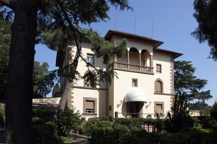 Motorrad Hotel Park Palace in Florenz in Florenz