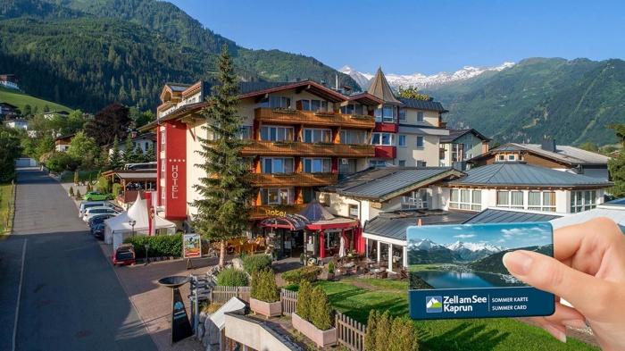 Hotel for Biker Verwöhnhotel Vötter´s Sportkristall in Kaprun in Zell am See
