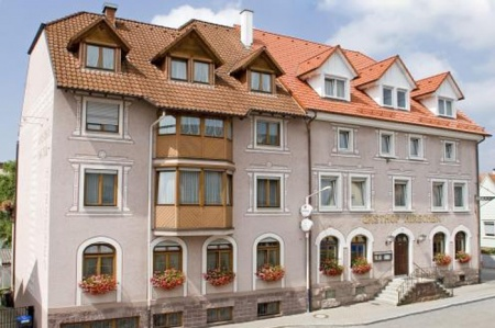 Hotel for Biker Hotel-Restaurant Zum Hirschen in Donaueschingen in Schwarzwald