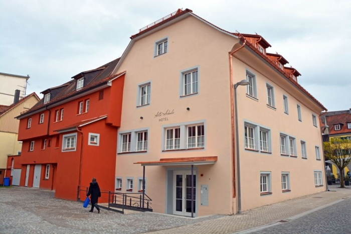 Hotel for Biker Hotel Alte Schule am Bodensee in Lindau in Bodensee