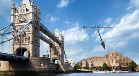 Motorrad The Tower - A Guoman Hotel - Tower Bridge Hotel in London in London