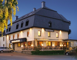 Motorrad Hotel St Fiacre in Bourscheid in