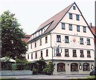 Motorrad Ringhotel Gasthof Hasen in Herrenberg in Schwarzwald