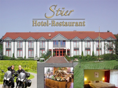 Hotel for Biker Hotel-Restaurant Stüer in Altenberge in Münsterland