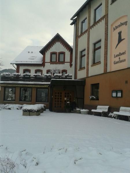 Motorrad Landhotel & Gasthaus Altenburg in Niedenstein in Habichtswaldsteig