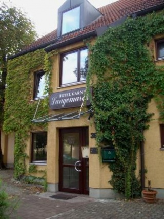 Motorrad Hotel Pension Augsburg Langemarck in Augsburg in Schwaben