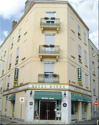 Hotel for Biker Hotel Iena in Angers in Loire